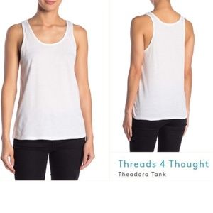 Threads 4 Thought Theadora Tank WHITE